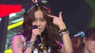【TVPP】4MINUTE - Dream Racer, 포미닛 - 드림 레이서 @ Comeback Stage, Music Core Live