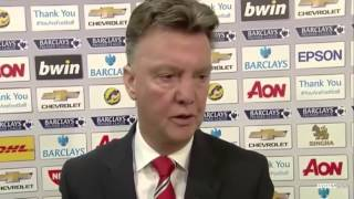 Manchester United Vs Hull City 30 • Louis Val Gaal Interview 29112014