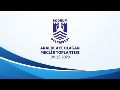 BODRUM BELEDİYESİ ARALIK AYI OLAĞAN MECLİS TOPLANTISI - 2020