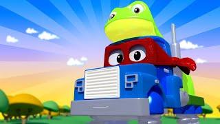 Videa s náklaďáky pro děti - Superžabák - Supernáklaďák ve Městě Aut