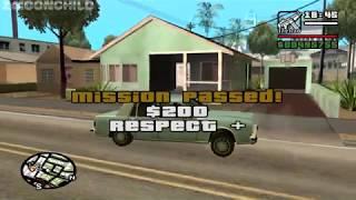 GTA San Andreas - Drive-Thru - Sweet mission 3 - Plus, Sweet tells CJ he