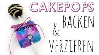Cakepops backen & verzieren | DIY Geschenk Ideen #06 | Weihnachts-Serie 2014