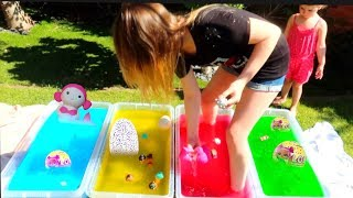 BEST GELLI BAFF TOY SURPRISE CHALLENGE GAME!! Ruby Rube & Bonnie