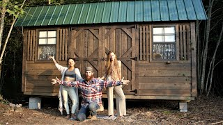 The 3 of us Living Off Grid  / Building a off grid community / Little House of the Gridy Ep. 29