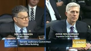 SCOTUS Nominee Neil Gorsuch Confirmation Day 2 Judicial Independence, Abortion & Torture (Part 2)