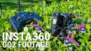 Insta360 GO 2 FPV Drone Footage #insta360 #go2 #fpv