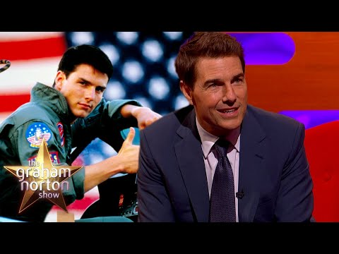 Tom Cruise o létání - The Graham Norton Show