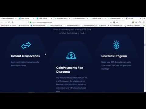 Как использовать CPS coin в coinpayments