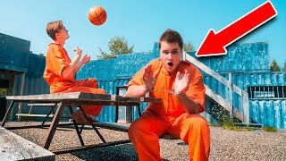 REAL LIFE PRISON ESCAPE CHALLENGE!! Escaping The Hacker (24 Hour Challenge)