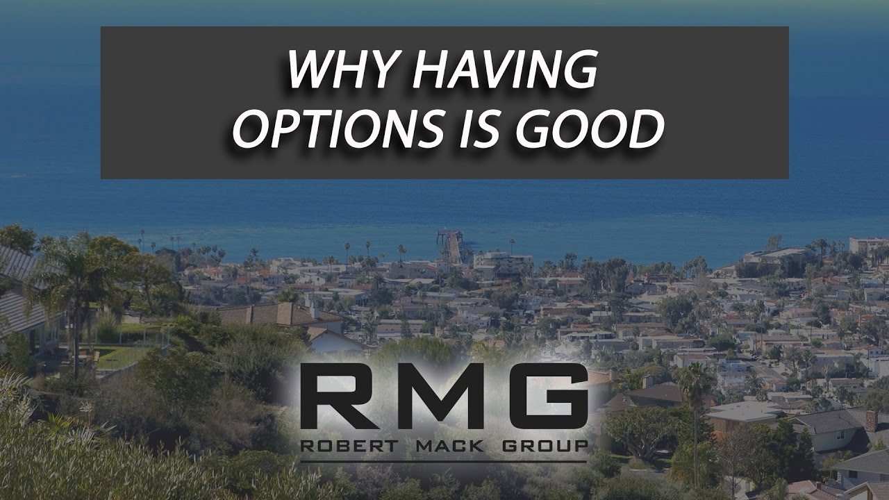 Why Having Options Is Good