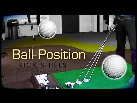 GOLF BALL POSITION IN YOUR STANCE