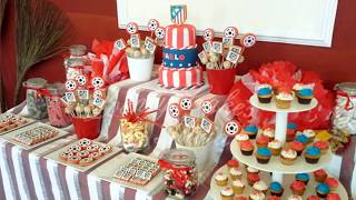 IDEAS FOR TABLE OF SWEETS AND DESSERTS CHILDRENS PARTY