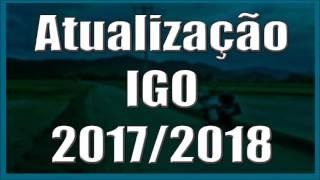 Atualização IGO MAIO 2017 MAPAS