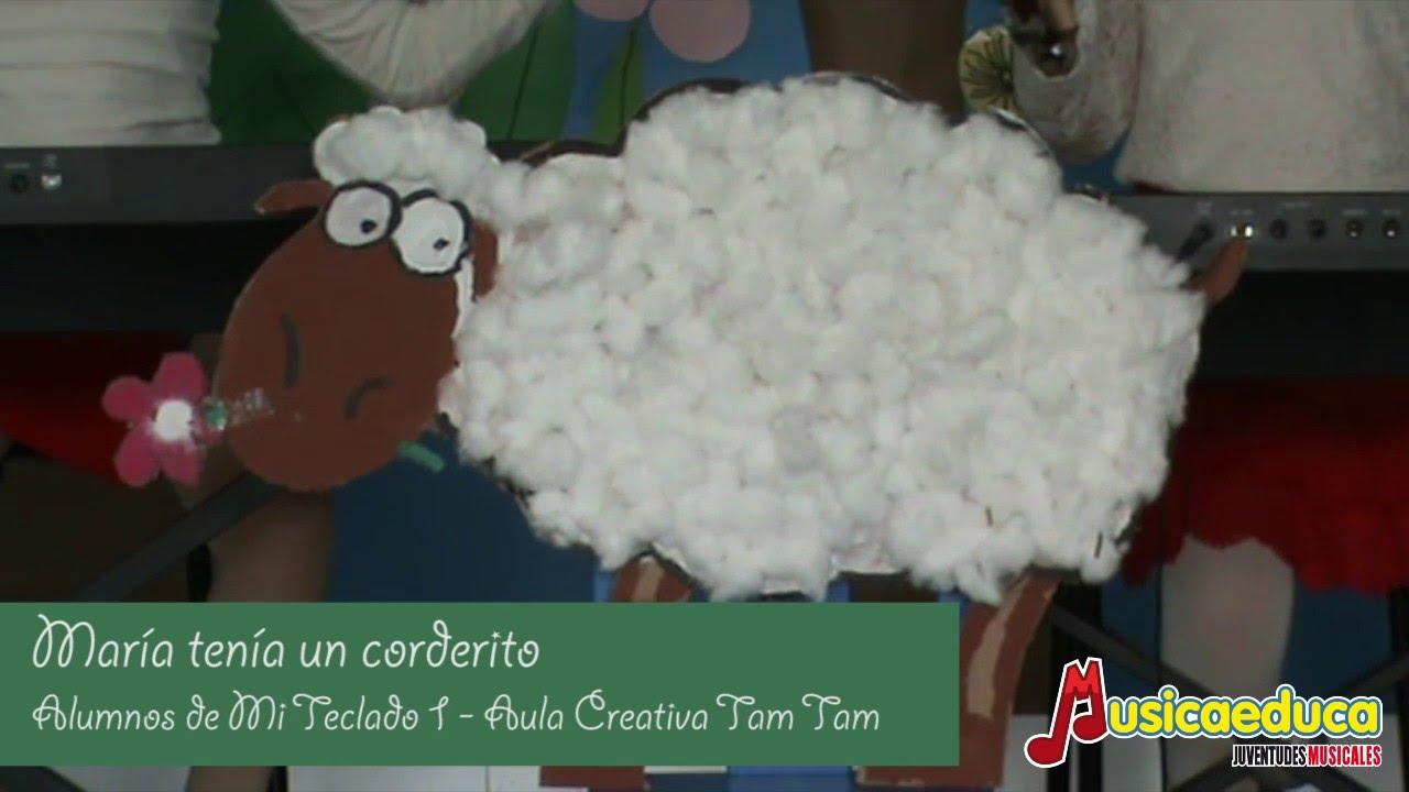 María tenía un corderito - Grupo de Alumnos de Mi Teclado 1 - Aula Creativa Tam Tam - Almería