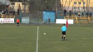 preview picture of video '29.03.2015 Svidník - Štrba 0:1'