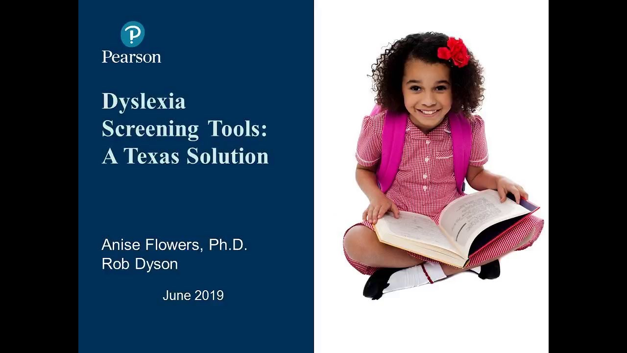 Dyslexia Screening Tools: A Texas Solution