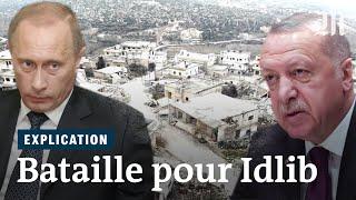 Syrie : pourquoi Erdogan et Poutine se disputent la région d