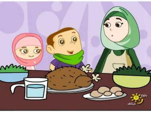 سلسلة تعليم الأطفال. آداب الأكل