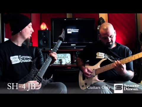 Seymour Duncan 7-String Bridge Pickup Comparison- Metal
