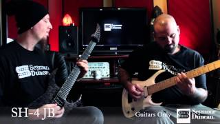 Seymour Duncan 7-String Bridge Pickup Comparison- Metal