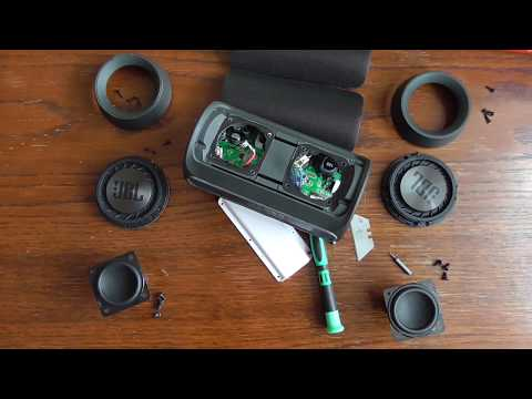 Разборка JBL Charge 2+ (Disassembly + bass & water slowmotion )