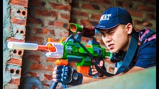 Video LTT Nerf War : Captain SEAL X Warriors Nerf Guns Attack Criminal Group Nerf Mod Elite Stryfe MP3, 3GP, MP4, WEBM, AVI, FLV September 2019