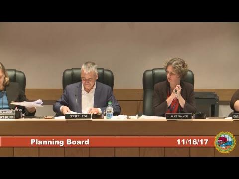 Planning Board 11.16.17