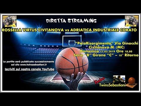 Preview video DIRETTA Rossella Civitanova - Basket Corato