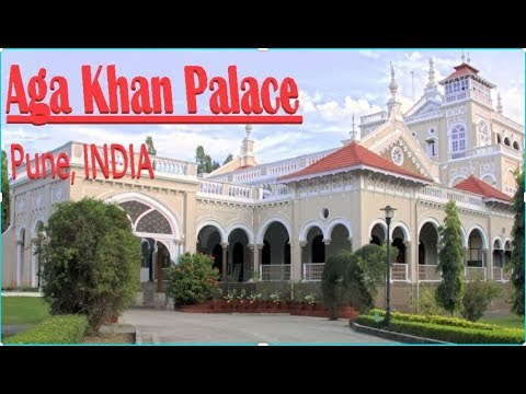Aga Khan Palace, Pune India | Historical monument | Prison for GandhiJi during freedom struggle