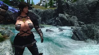 Skyrim mods holidays  yundao hair and YY animation replacer