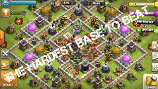 CAN I BEAT MY OWN BEST BASE Clash of lights