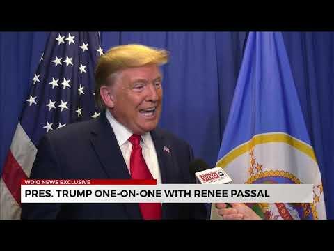 Interview: Renee Passal of WDIO ABC Minneapolis Interviews Donald Trump - October 10, 2019