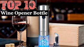 10 Best Electric Wine Opener Bottle | Wine Opener Rechargeable | Wine Opener in Black