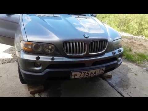 Замена вентилятора кондиционера BMW e53