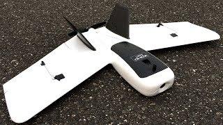 ZOHD Dart Sweepforward Wing FPV Racing Wing RC Plane LOS Maiden Flight In Wildfire Smoke