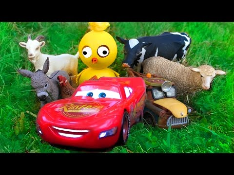 Disney Pixar Cars Lightning McQueen Cars Movie 2 Mater AMAZING Discovery Kids Movie Giant Egg Toys