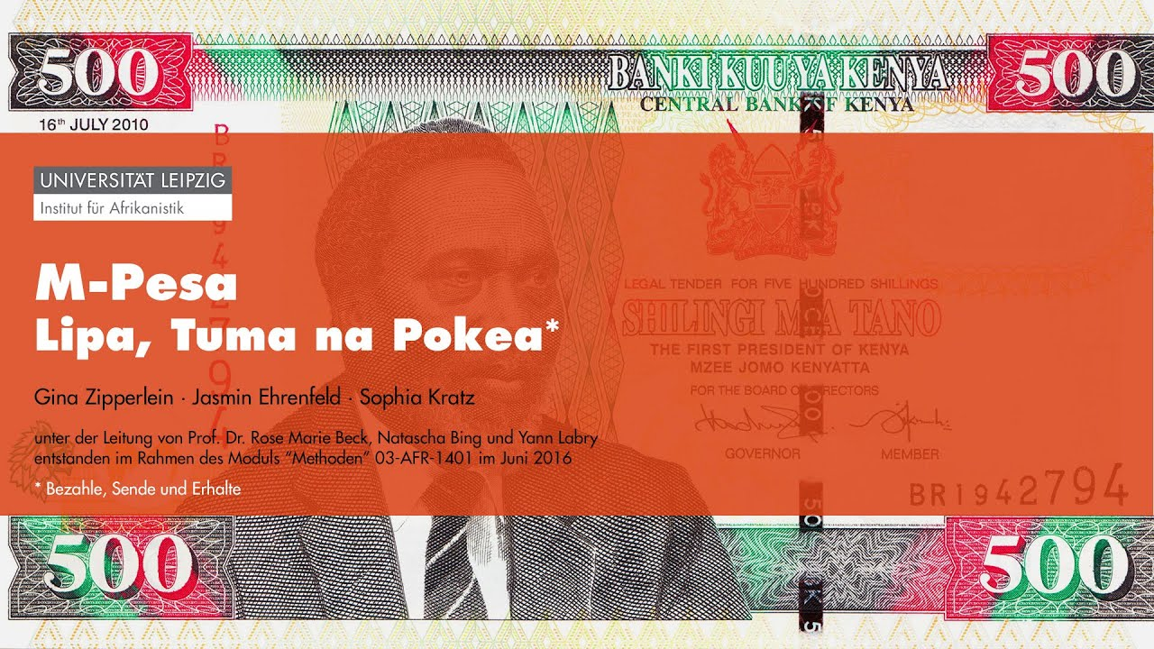 Money Talks - M-Pesa: Lipa, Tuma na Pokea