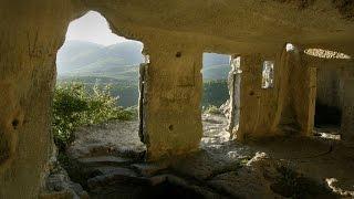 Крым. Мангуп-Кале. Пещера Акустика (caves in the mountains of Crimea - Mangup) 山區 豐厚