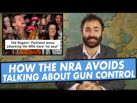 How Conservatives and The NRA Avoid Talking About Gun Control and More! - SOME MORE NEWS