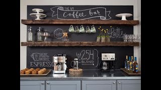 Top 40 Chalkboard Paint Decor Ideas   DIY Wall Room Colour Tile Spray Home Kitchen Decorating 2018
