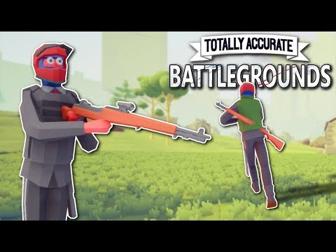 Totally Accurate Battlegrounds - TABG Gameplay