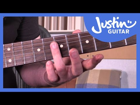E9 Chord is THE Funk Chord. Super Fly. Get Down. Funk Guitar Course Lesson Tutorial s1p3