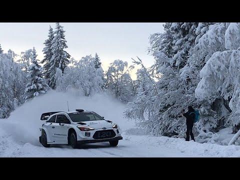 WRC - Pruebas Rally Suecia