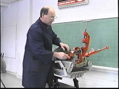 Machine à fileter 1224 (Découpe d'un filet droit)
