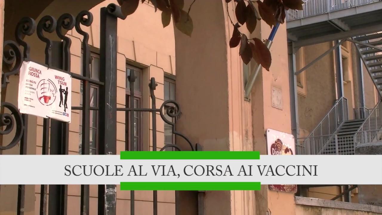 Scuole al via, corsa ai vaccini