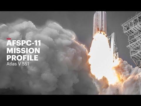 Atlas V AFSPC-11 Mission Profile