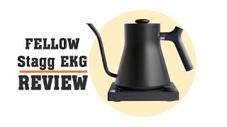 Fellow Stagg EKG Review - Gooseneck Electric Kettle for Coffee