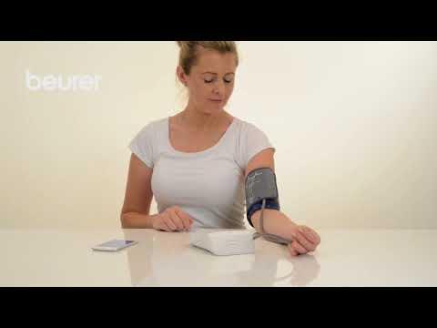 Video-guida del Misuratore di pressione da braccio Beurer BM 77 Bluetooth
