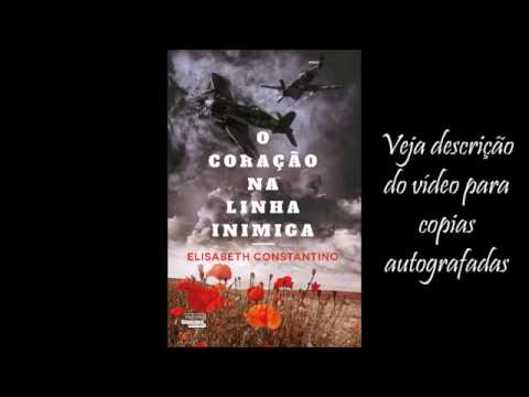 O CORAÇÃO NA LINHA INIMIGA - BOOK TRAILER