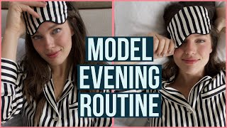 Extremely Realistic Model Evening Routine  | Emily DiDonato